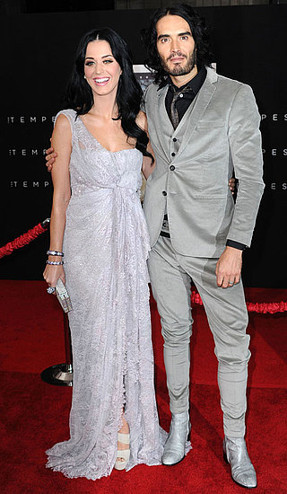 Pictures of Russell Brand and Katy Perry at the LA Premiere of The Tempest