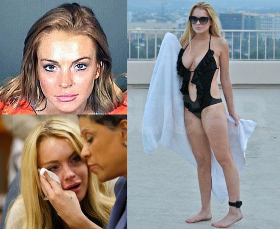 Biggest Headline of 2010: Lindsay Lohan Lands in Jail, Rehab, and Finally, Sober Living