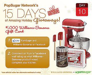 YumSugar and Williams Sonoma Holiday Giveaway