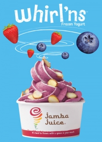 Jamba Juice Testing Out Frozen Yogurt Line in California