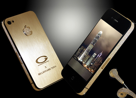 Billionaire Toys Gold iPhone  4
