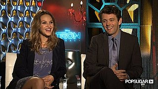 Beau Garrett and Michael Sheen on the Grid, Costume Sacrifices, and Breaking Dawn!