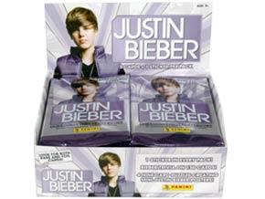 Justin Bieber vira figurinha nos Estados Unidos