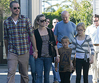 Slide Picture of Reese Witherspoon and Jim Toth With Ava and Deacon in LA