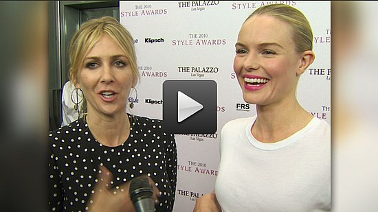 Video of Kate Bosworth Talking About Her Dad at the Hollywood Style Awards
