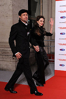 Pictures of Brad Pitt and Angelina Jolie at the Rome Premiere of The Tourist 2010-12-15 15:45:00