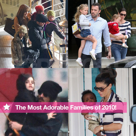 Pictures of the Jolie-Pitts, Garner Afflecks, and More in 2010's Cutest Families Slideshow