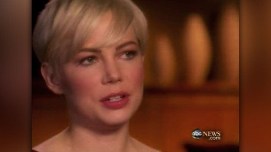 Video of Michelle Williams Talking About Heath Ledger
