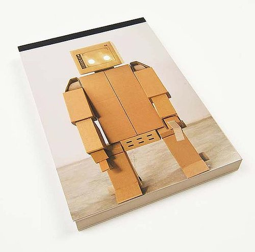 H the Happy Robot notepad ($10)