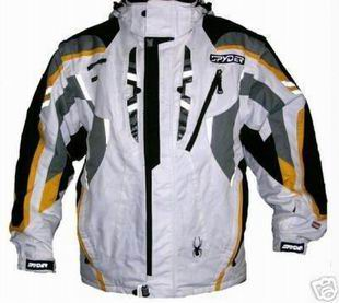Spyder jackets with special STF materials is more professional