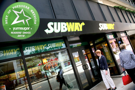 2010 Readers' Choice Favorite Fast Food Chain