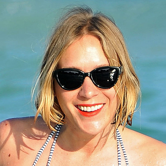 Chloe Sevigny Swims With the Fishes (and Orange Lipstick)