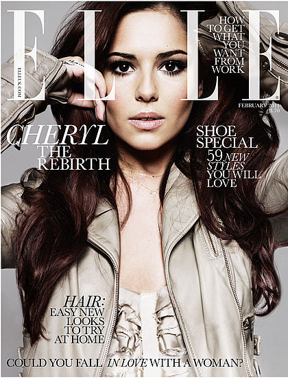 Pictures of Cheryl Cole in February 2010  British Elle Magazine