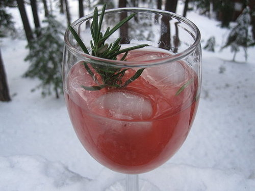 Rosemary Cranberry Martini