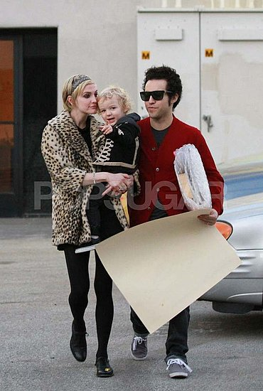Pictures of Ashlee Simpson With Pete Wentz and Bronx in LA
