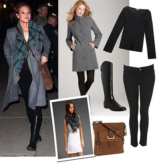 Pictures of Beau Garrett Leaving Late Show With David Letterman