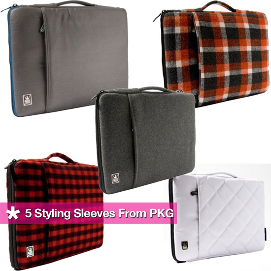 Laptop Sleeves From PKG