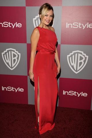 Malin Akerman at 2011 Golden Globe Awards