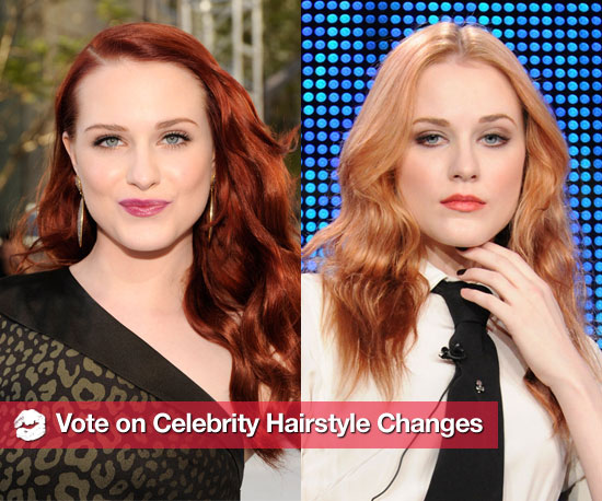 Pictures of Celebrities With New Hairstyles