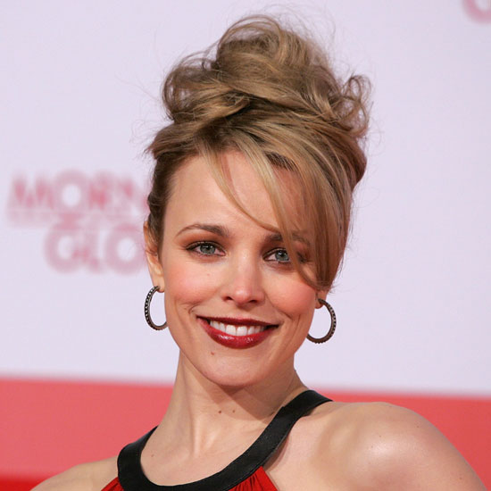 Rachel McAdams's Voluminous Hair and Bold Makeup at the German Premiere of Morning Glory