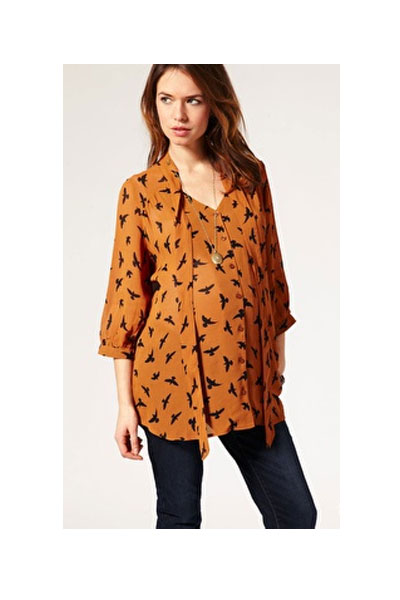Swallow Print Tunic