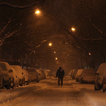 Pictures of Snow in New York City
