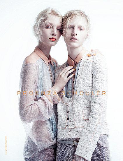 Photos of Balenciaga, Proenza Schouler, Alberta Ferretti, Roberto Cavalli Spring 2011 Ad Campaigns