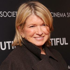 Martha Stewart Head-Butted by Dog
