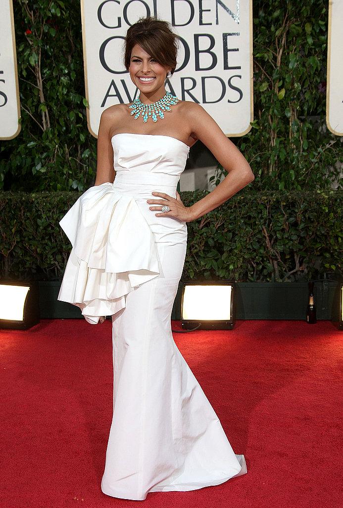 Eva Mendes in Christian Dior in 2009.