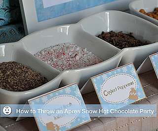 Throw a Hot Chocolate Party