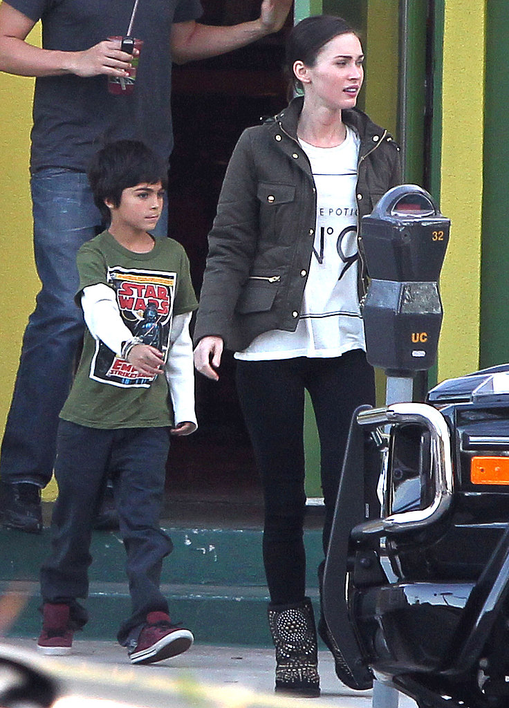Megan Fox Jazzes Up Her Casual Style in Jimmy Choo Uggs
