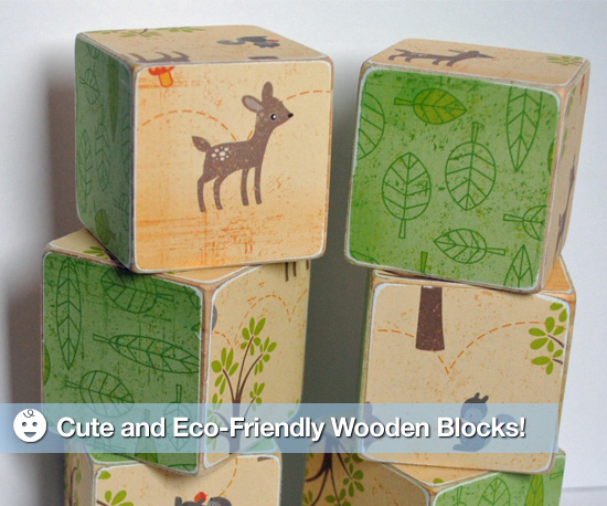 All-Natural Wooden Block Toys