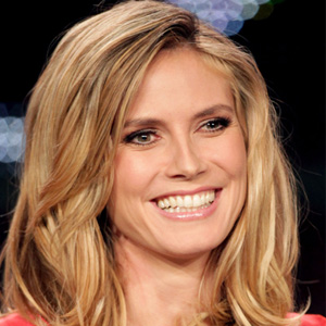 Heidi Klum Sewed Lacoste Crocodiles on Her Clothes