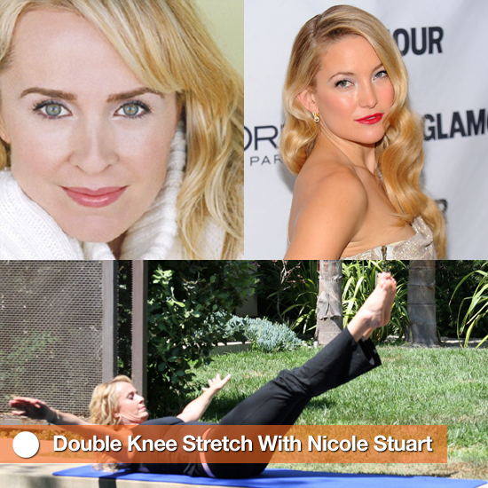 Pictures of Double Knee Stretch From Nicole Stuart