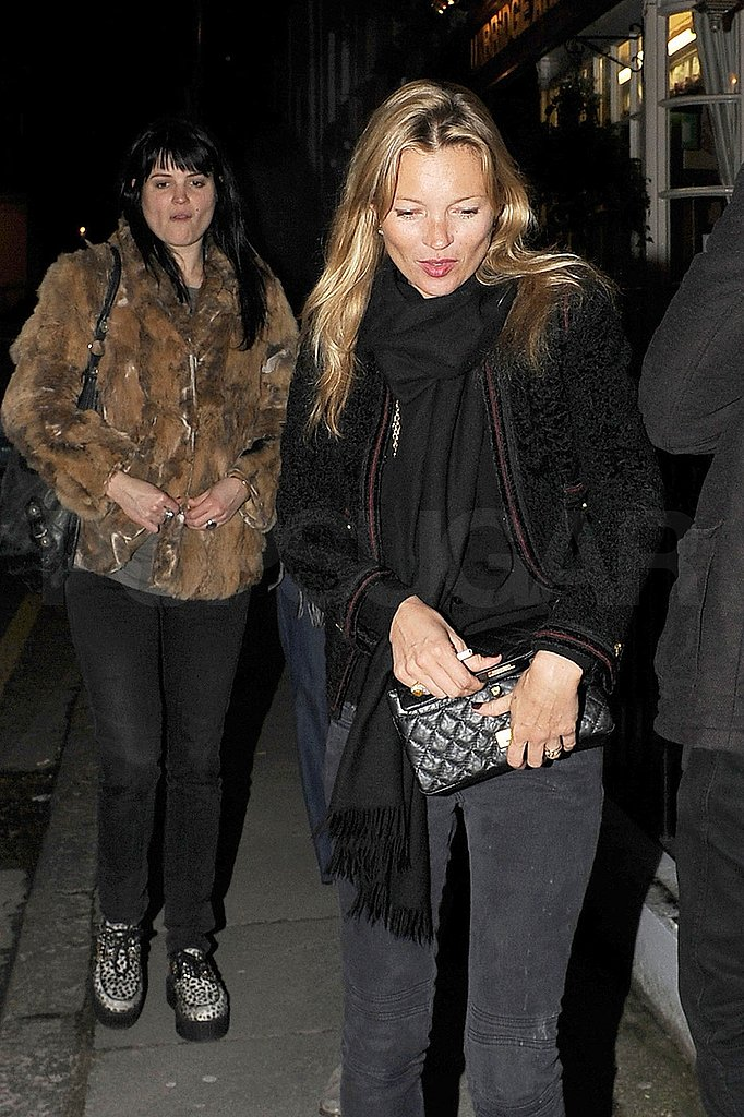 Kate Moss Keeps the Birthday Parties Coming