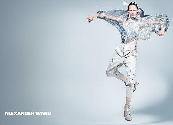 Alexander Wang Debuts First Ever Print Ad, Shot by Craig McDean 2011-01-19 09:53:20