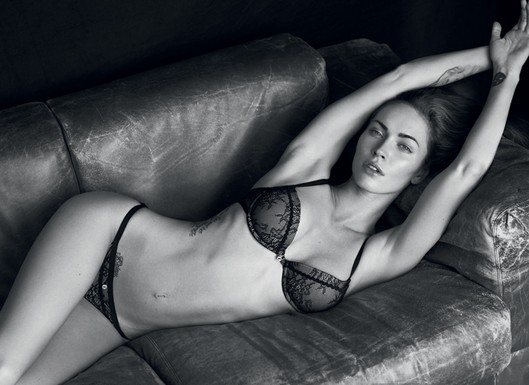 Armani Debuts Some Seriously Sexy Ads With Megan Fox and Rafael Nadal 2011-01-20 09:45:05