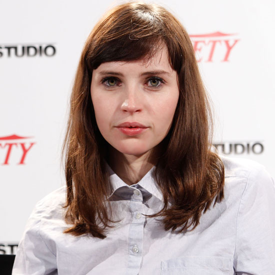 Felicity Jones's Super Subtle Makeup