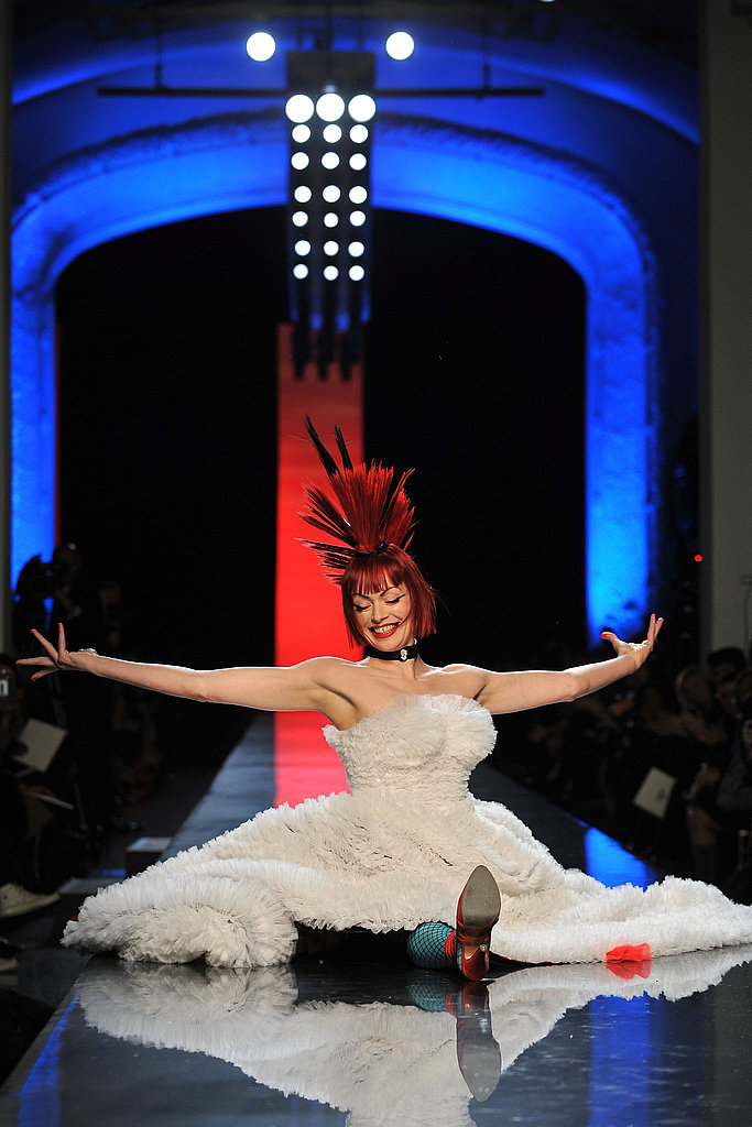 Jean Paul Gaultier Chooses Androgynous Male Model Andrej Pejic As His Spring 2011 Couture Bride