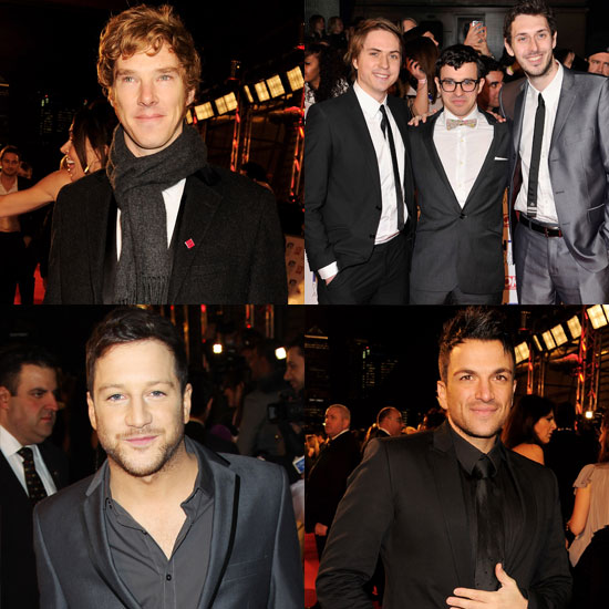 Pictures of Celebrity Men on the Red Carpet at the 2011 National Television Awards