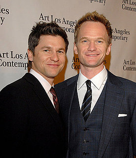 Pictures of Neil Patrick Harris and David Burtka at Art Los Angeles Contemporary 2011 Opening Night 2011-01-28 13:28:15