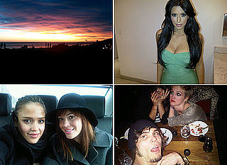 Celebrity Twitter Pics Jessica Alba, Kim Kardashian and Whitney Port