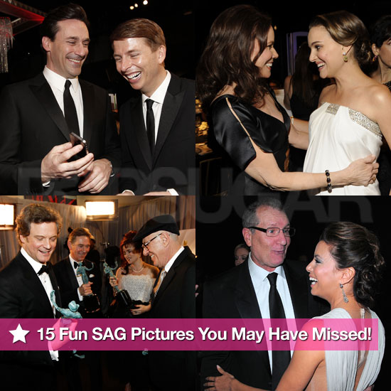 Pictures Behind the Scenes at 2011 SAG Awards