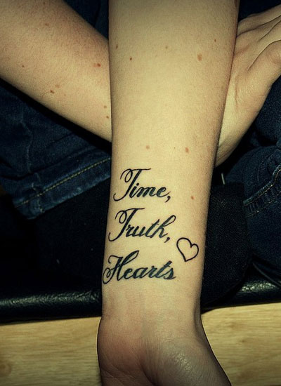 Time, Truth, Hearts