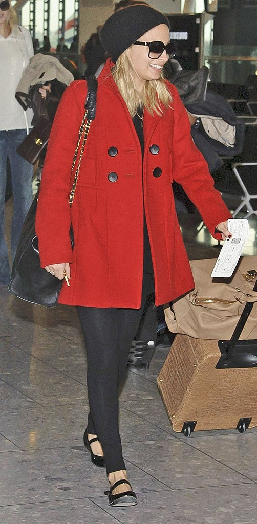 Kate and Nicole Have a Wives and Girlfriends of Rock Stars Meet-Up at Heathrow