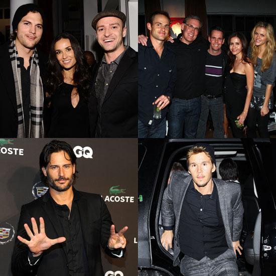 Pictures of Justin Timberlake, Demi Moore, Andy Roddick, Ashton Kutcher at Pre Super Bowl Parties 2011-02-05 20:00:00