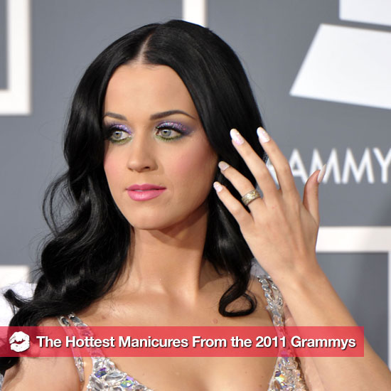 Pictures of the Stars' Manicures at the 2011 Grammys