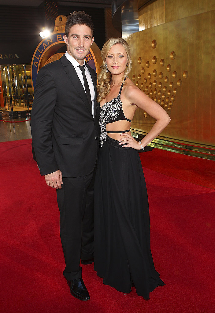 Shaun Marsh and Amanda Watson