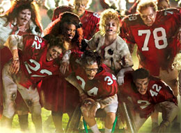 """Video of Glee """"Thriller / Heads Will Roll"""" Mashup From Post-Super Bowl Episode """"The Sue Sylvester Shuffle"""""""