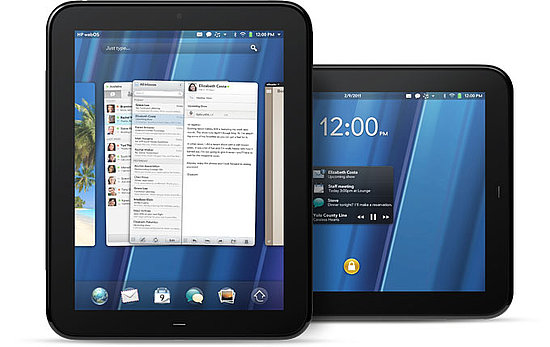 HP PalmOS TouchPad Details